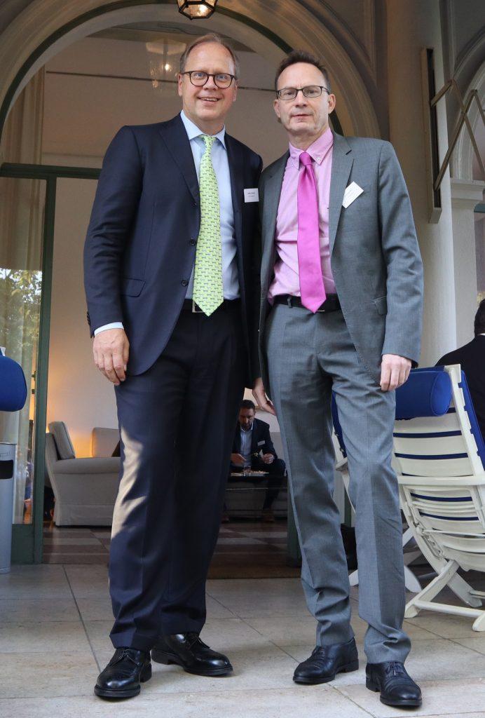 Stefan Rehder (Value Intelligence Advisors), Markus Hill – Auf.Den.Punkt., AMPEGA, Köln, 2019 (Foto MH Services)