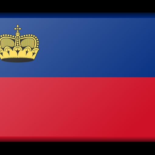 Liechtenstein Banner Flagge